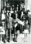 Jewish Wedding in Occupied Belgium. Stars of David