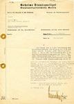 Gestapo Document Regarding Seizing Jewish Assets