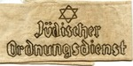 Armband Worn by Member of Jewish Ghetto Police