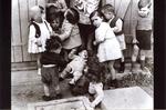 Children at Rivesaltes Internment Camp, France