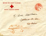 Correspondence from Aron Appelbaum via British Red Cross
