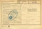 Ghetto Deportation Order in Amsterdam