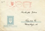 Arianized Victor Wolf Company, Dreiturm Seife Envelope