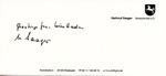 Card Regarding Arianization of Jewish-owned Victor Wolf Company, Dreiturm Seife