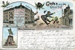 """Kolner Hof"" Anti-Semitic Postcard"
