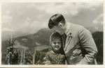 Bernile Nienau with Adolf Hitler at Obersalzberg