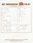 Beit Theresienstadt Central Card Index for Gertruda Trüde Shön