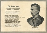 Die Fahne Hoch [Horst-Wessel-Lied] Postcard