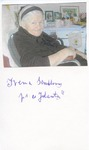 Irena Sendler [Sendlerova] Autograph