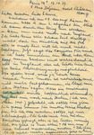 Postcard from A Jewish Refugee in Germany Trapped in France en Route to England