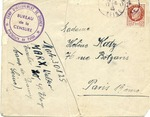 Envelope from Drancy Internment Camp
