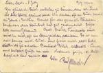 Briefaktion (Operation Mail) Postcard, Auschwitz