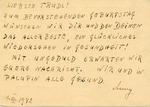 Theresienstadt Transport Card
