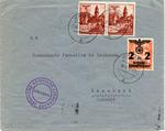 Envelope from Krosno Ghetto