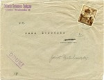 Envelope from Krakau Ghetto
