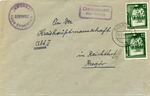 Envelope from Dzikowiec Ghetto