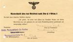 Niederschrift [Oath of Office] Signed by Marianne Tuerk