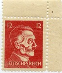 American Anti-Hitler Propaganda Stamp