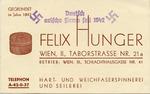 Nazi Era German-Aryan Company Business Card