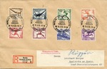 Envelope with Deutsches Reich 1936 Olympics Stamps
