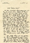 Letter from Wilhelm Kube