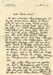 Letter from Wilhelm Kube