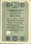 I.G. Farben Partial Debenture