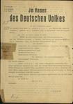 Dr. Alois Geiger Sentenced to Death by Roland Freisler