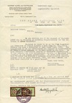 Letter from The Chase National Bank of the City of New York to the American Counsul, Vienna, Germany (German Family Escapes the Holocaust)