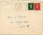 Correspondence to Salome Goldstein, London, England (German Family Escapes the Holocaust)