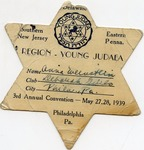 Young Judea Region Card