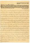 Letter from Ravensbruck-Furstenberg Concentration Camp