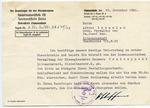 Treuhandstelle Letter