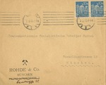 Envelope Addressed to National Socialist Workers Party in Munich