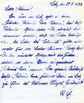 Letter to Der Sturmer