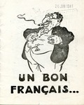 Un Bon Français [A Good Frenchman]:French Anti-Semitic Pamphlet
