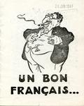 Un Bon Français [A Good Frenchman]:French Anti-Semitic Pamphlet