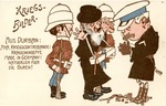 German Anti-Semitic Postcard