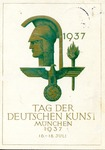 Tag Der Deutschen Kunst München 1937 [Day of German Art in Munich] Postcard