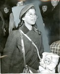 Young Refugee with Doll