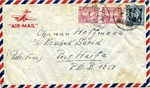 Envelope from Jewish Refugee in Shanghai, China to Haifa, Palestine