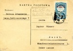 Postcard from Soviet Occupied Lvov to Basel, Switzerland