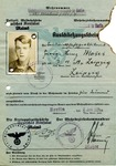 Immigration Document for Georg-Heinz Moses
