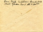 Correspondence from Brandenburg Penitentiary