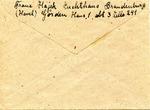 Correspondence from Brandenburg Penitentiary