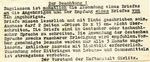 Letter from Gestapo Prison in Gorlitz