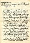 Letter from Berlin-Plotzensee Prison, 1940
