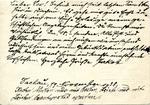 Postcard from Kristallnacht Prisoner in Dachau