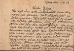 Postcard Reveals Attempts of Family to Escape Nazi Germany