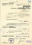 Transfer of Farm Property to True Germans Document